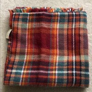 Altar'd State fall colors blanket scarf NEW